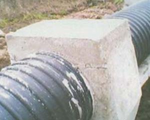 全水泥连接管道