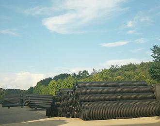 HDPE钢带增强螺旋双壁波纹管